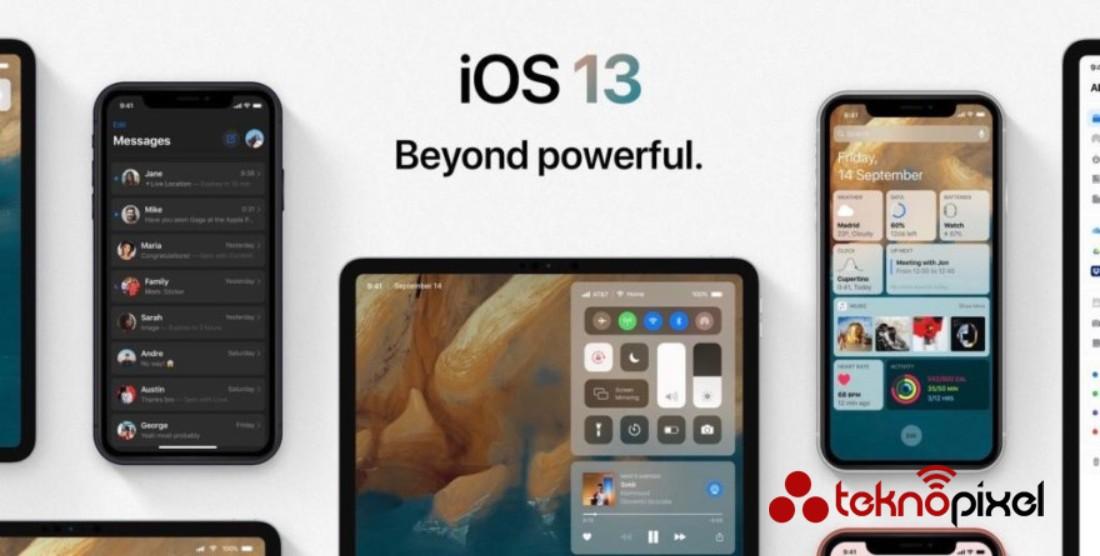 IOS 13 Bilinmeyen özellikler