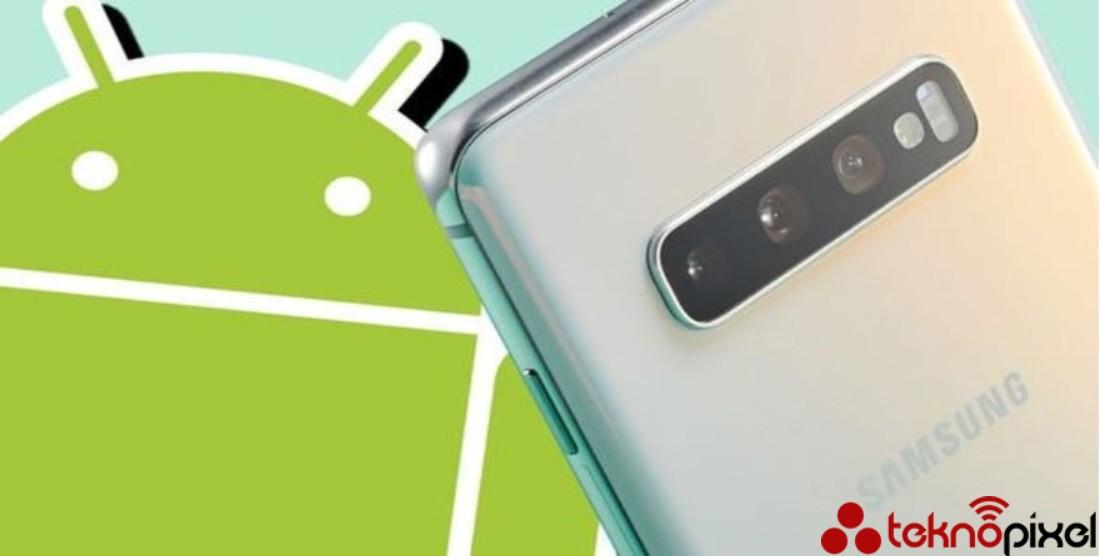 Samsung Android 10 Hatası