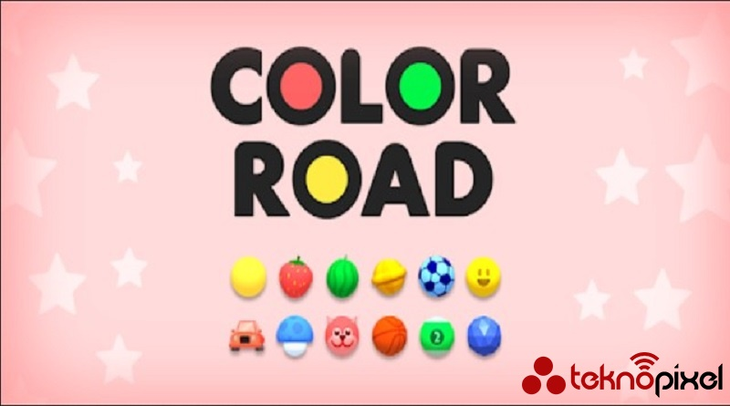 mobil oyun color road
