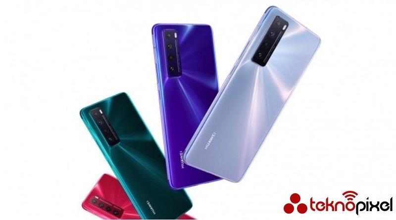 huawei nova 7 pro modeli görüntüsü