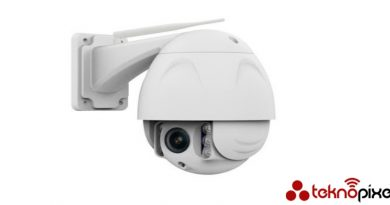 IP dome kamera