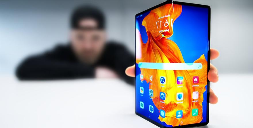 Photo of Katlanabilir Modeli ile Huawei Mate Xs